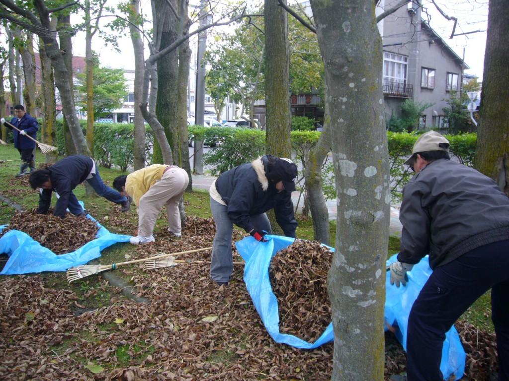 公園管理ボランティア