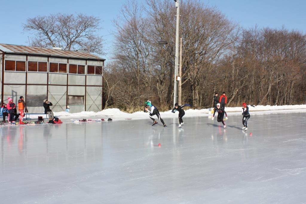町民スケート大会